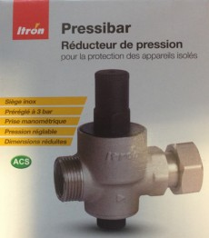 Groupe securite cumulus accessoires chauffe eau kit de cerclage kit tripha - Reducteur de pression reglage ...